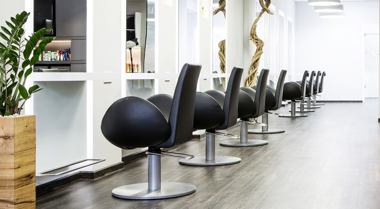 Go to styling chairs overview - salon furniture